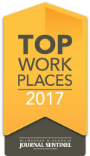 Top work place 2017 Logo